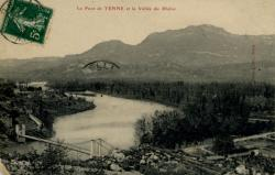 Le Pont de Yenne et la Vallée du Rhône
