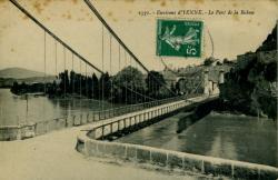 Environs d'Yenne. - Le Pont de la Balme