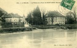 La Balme. - Le Rhône et la Route de Saint-Genix (Savoie)