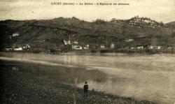 Lucey (Savoie) - Le Rhône - L'Eglise et les Altesses.