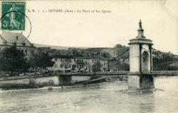 Seyssel (Ain) - Le Pont et les Quais
