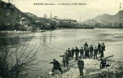 Yenne (Savoie). - Le Rhône et St-Didier