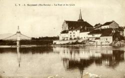 Seyssel (Hte-Savoie) - Le Pont et les Quais