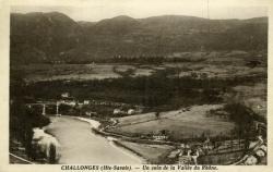 CHALLONGES (Hte-Savoie). - Un coin de la Vallée du Rhône.