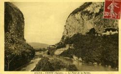 YENNE (Savoie). - Le Pont de la Balme.