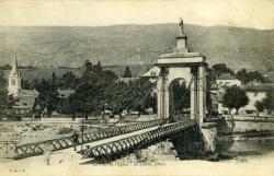 Le Pont de l'Eglise - Seyssel (Ain)