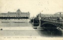LYON. - Les Facultés et le Pont de l'Université.