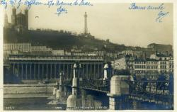 Lyon - Pont du Palais de Justice