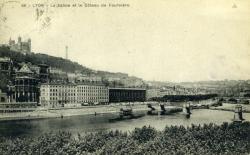 Lyon - La Saône et le Côteau de Fourvière