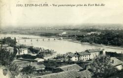 Lyon-St-Clair. - Vue panoramique prise du Fort Bel-Air
