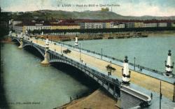 Lyon. - Le Pont du Midi et quai Gailleton