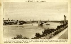 Lyon. - Pont Pasteur.