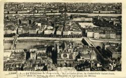 Lyon. - La ville vue de Fourvière.