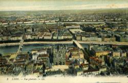 Lyon. - Vue générale.