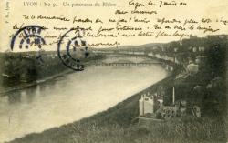 Lyon : un panorama du Rhône