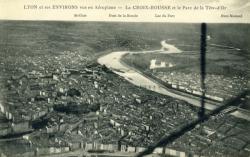 Lyon et ses environs vus en aéroplane