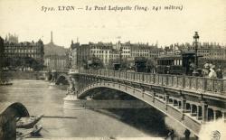 Lyon - Le Pont Lafayette (long. 241 mètres)