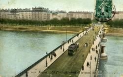 Lyon. - Le Pont Morand et le quai de l'est