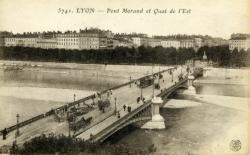 Lyon - Pont Morand et Quai de l'Est