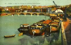 Lyon. - Pont du Change et Coteau Croix-Rousse
