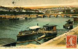Lyon. - Vue vers la Croix-Rousse