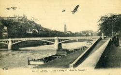 Lyon. - Pont d'Ainay et Coteau de Fourvière
