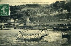 Joutes sur la Saône.
