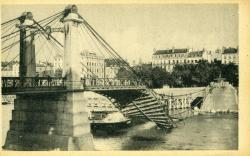 Lyon - Les ponts meurtris