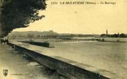 La Mulatière (Rhône) - Le Barrage