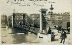 Lyon - Pont de l'Hôtel-Dieu