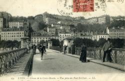 Lyon. - Côteau de la Croix Rousse.
