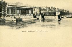 Lyon. - La Saône. -Palais de Justice