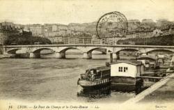 Lyon. - Le Pont du Change et la Croix-Rousse