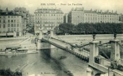 Lyon. - Pont La feuillée