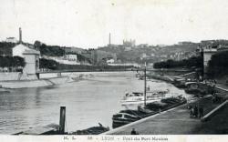 Lyon - Pont du Port Mouton