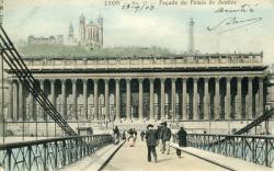 Lyon - Façade du Palais de Justice