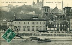 Lyon. - Cathédrale Saint-Jean - Coteau de Fourvière