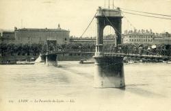 Lyon. - La Passerelle du Lycée.
