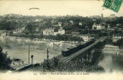 LYON. - Pont du Chemin de Fer, sur la Saône