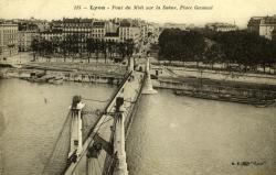 Lyon - Pont du Midi sur la Saône, Place Gensoul