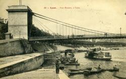 Lyon - Pont Mouton, à Vaise.