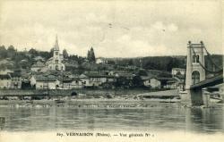 Vernaison (Rhône) - Vue générale N°1