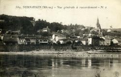Vernaison (Rhône) - Vue générale à raccordement. N°2