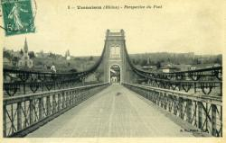 Vernaison (Rhône) - Perspective du Pont