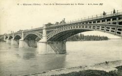 Givors (Rhône) - Pont de la Méditerranée sur le Rhône