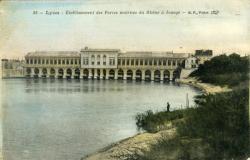 Lyon - Etablissement des Forces motrices du Rhône à Jonage