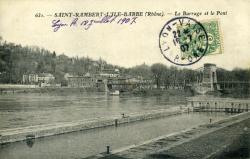 Saint-Rambert-l'Ile-Barbe (Rhône).