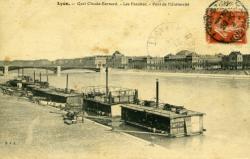 Lyon - Quai Claude Bernard. - Les Facultés. - Pont de l'Université