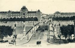 Lyon - Pont de l'Université - Les Facultés