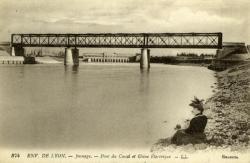 Env. de Lyon Jonage - Pont du Canal et Usine Electrique